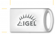 UD Pocket, IGEL OS 11 (only available with IGEL Workspace Edition License and Maintenance)  installed, 8GB storage
